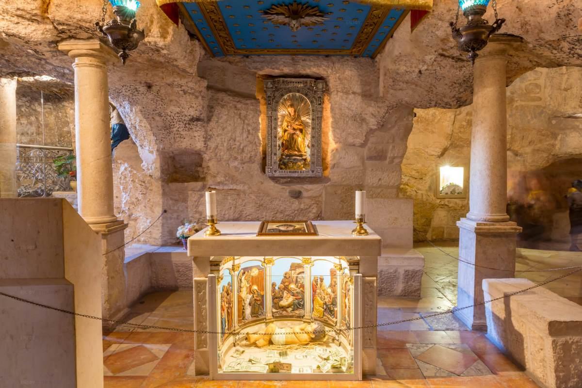 Kapelle der Milchgrotte