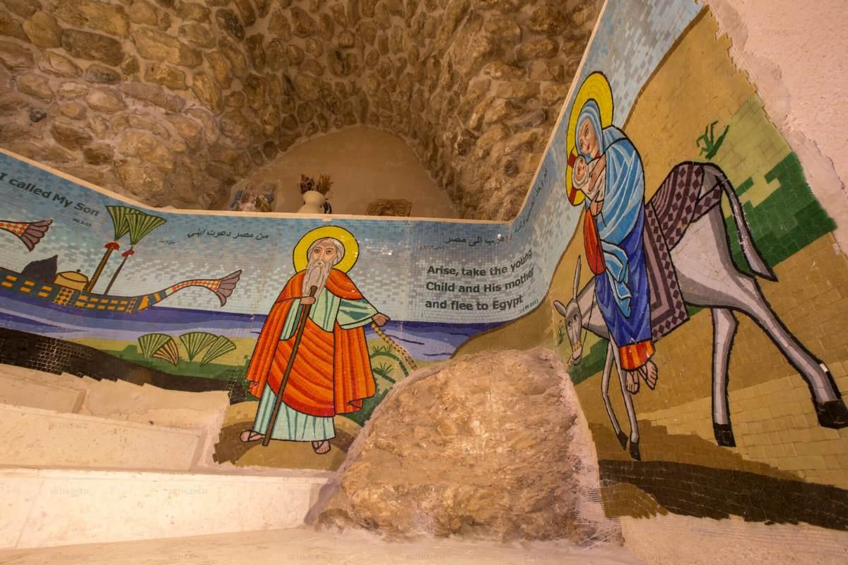Das koptisches Kloster und die Marienkirche