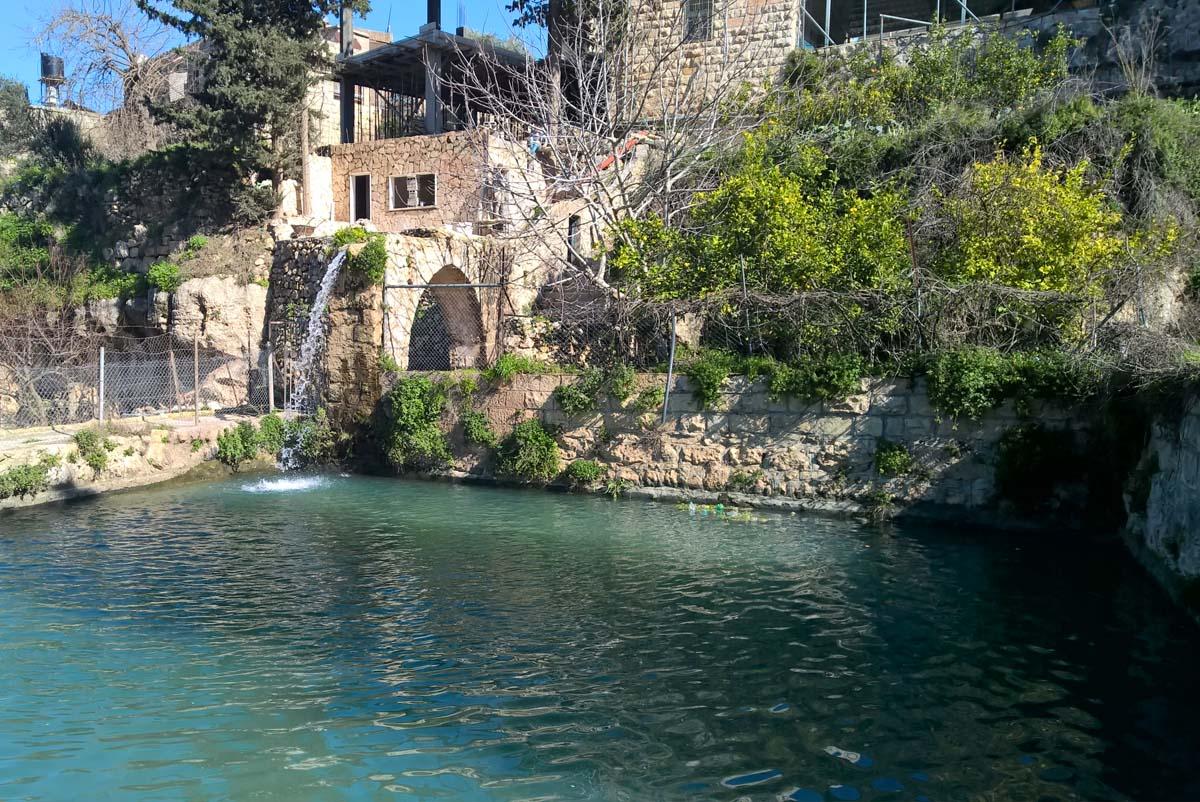 Water Springs in Battir